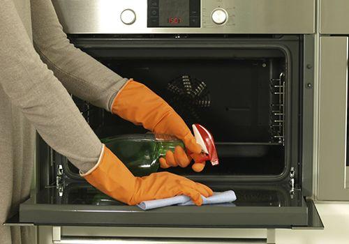 تمیز کردن آون توستر