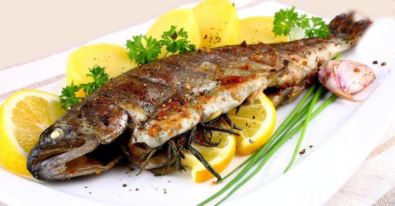 اموزش پخت ماهی در اون توستر